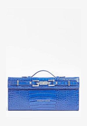 Clutch - mehrfarbig, grundton blau