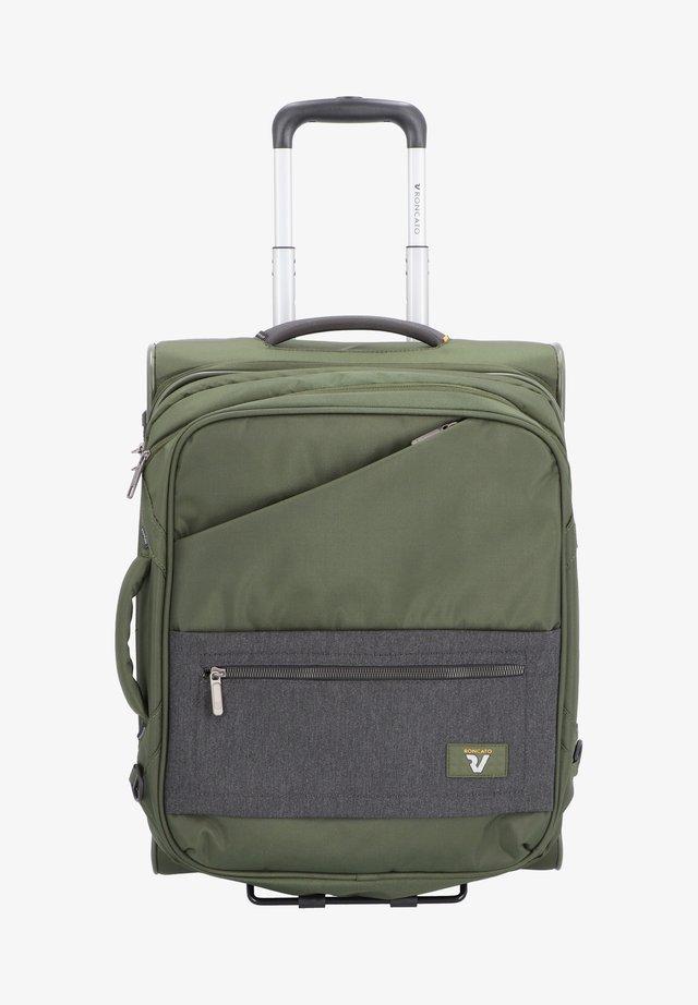 HYPER  - Wheeled suitcase - militare
