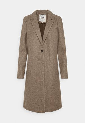 ONLTRILLION COATIGAN - Classic coat - walnut