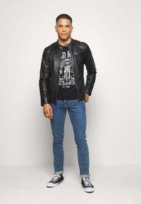 Freaky Nation - EASY JIM - Leather jacket - black - 1