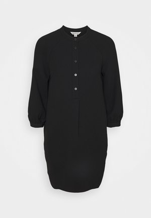 BUTTON THROUGH DRESS - Day dress - black