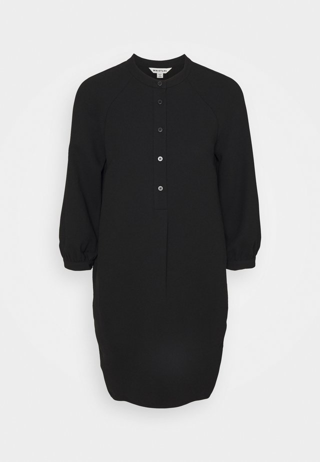 BUTTON THROUGH DRESS - Vardagsklänning - black