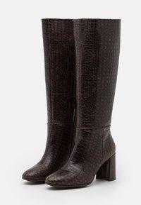 Kanna - AGATA - Vysoká obuv - testa di moro - 2