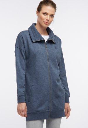 SWEATJACKE - Zip-up hoodie - dunkelgraublau melange