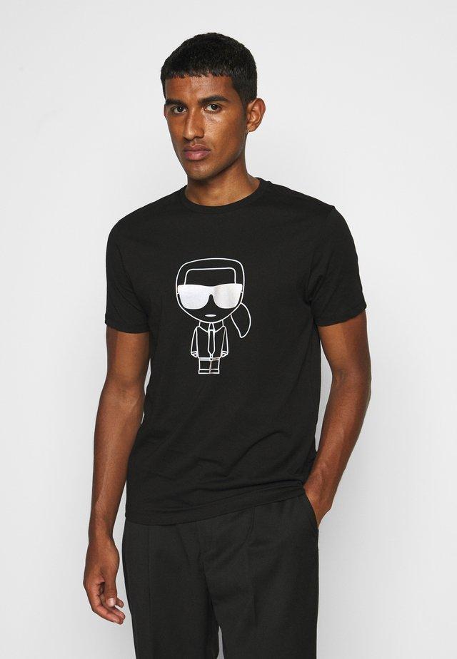 T-shirts med print - black/gold