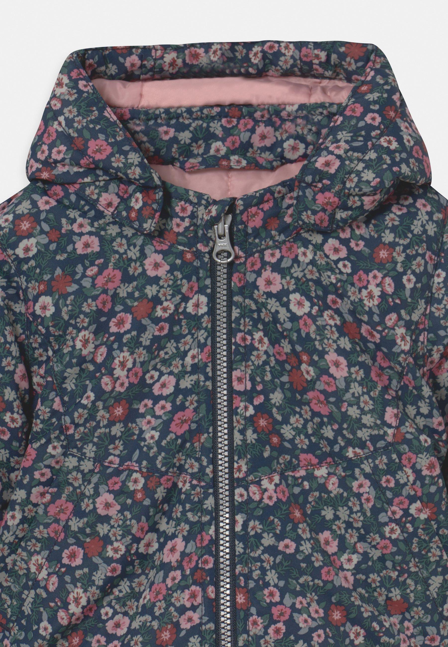 Kids NBFMAXI JACKET PETIT FLOWER - Winter coat