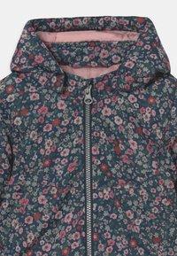 Name it - NBFMAXI JACKET PETIT FLOWER - Winter coat - dark sapphire - 3