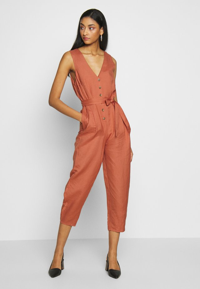 ADLIN  - Tuta jumpsuit - cedar wood
