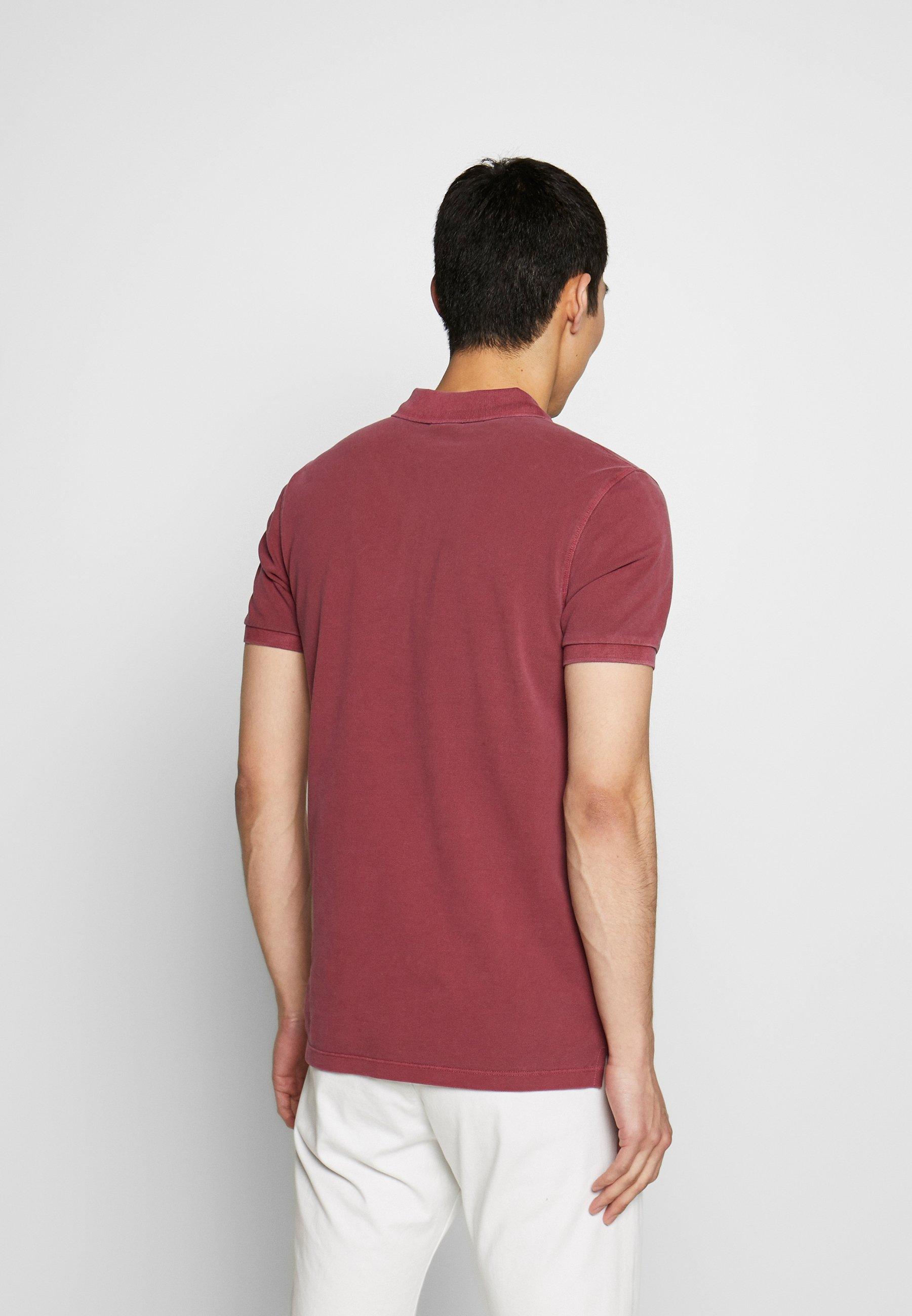 JOOP! Jeans AMBROSIO - Polo shirt - bordeaux fmIYe