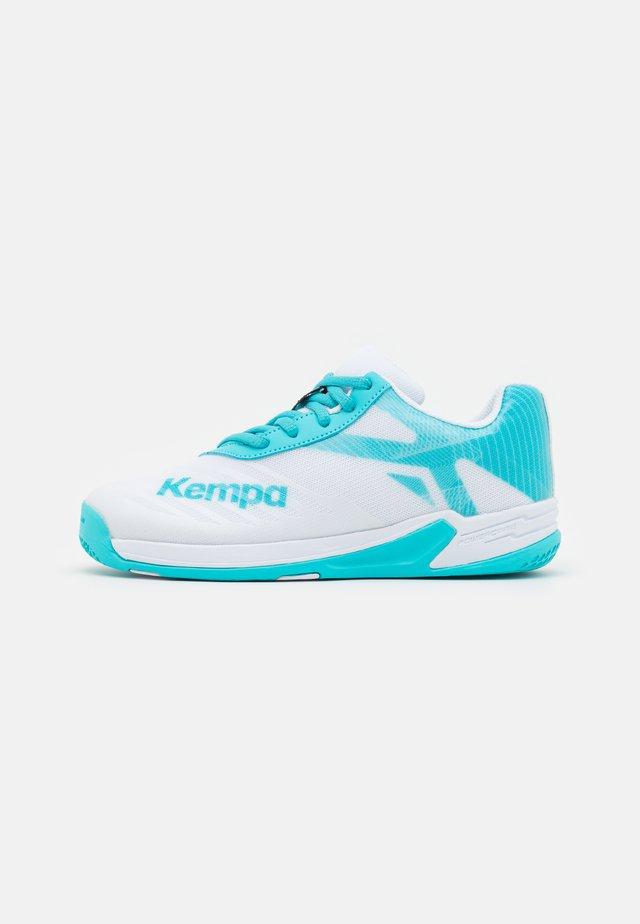 WING 2.0 JUNIOR UNISEX - Handballschuh - white/aqua