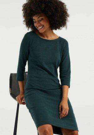 Shift dress - moss green