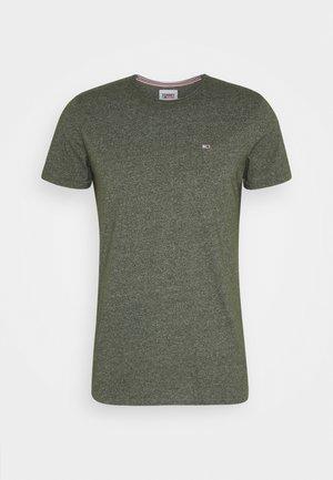 ESSENTIAL JASPE TEE - Basic T-shirt - dark olive