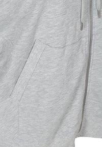 Active by Zizzi - Zip-up sweatshirt - light grey melange - 6