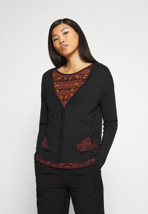 JERS DAKOTA - Strickpullover - black