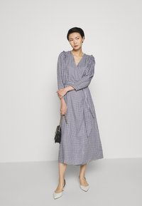 Mother of Pearl - GABBY - Maxi dress - navy/white - 1