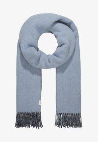 Won Hundred - VANESSA DOUBLE - Scarf - ashley blue/anthracite melange - 1