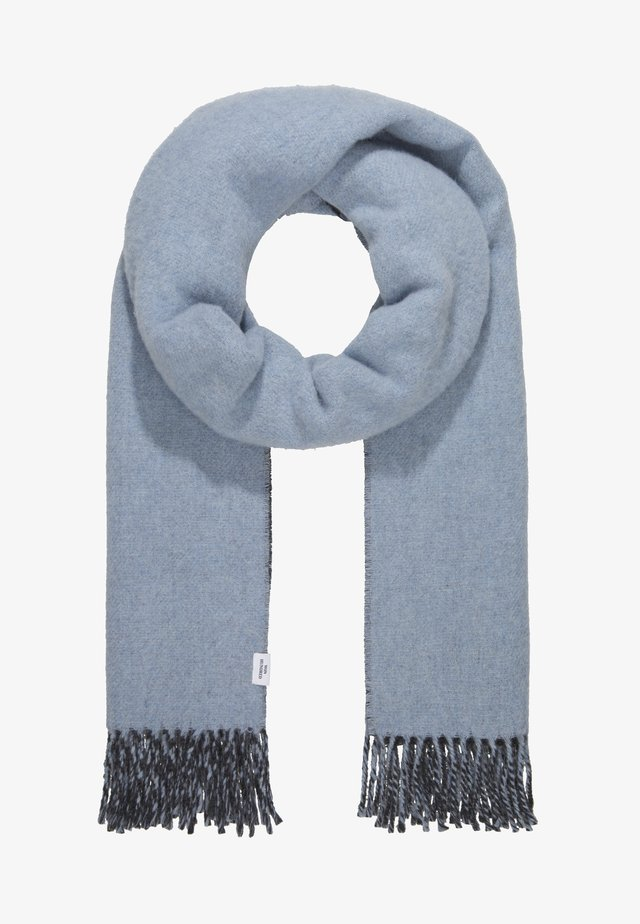 VANESSA DOUBLE - Scarf - ashley blue/anthracite melange