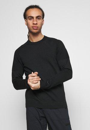 TIGER WOODS CREW  - Pullover - black
