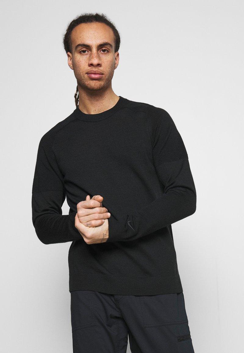 Nike Golf - TIGER WOODS CREW  - Svetr - black