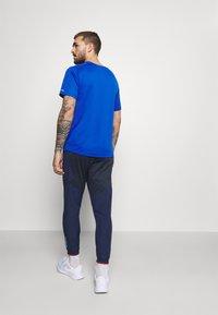 Nike Performance - ELITE PANT - Pantalon de survêtement - midnight navy/reflective silver - 2