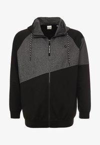 Jack & Jones - JCOTAKE  - Zip-up hoodie - black - 3