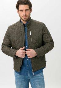 BRAX - STYLE BRUCE  - Light jacket - olive - 0