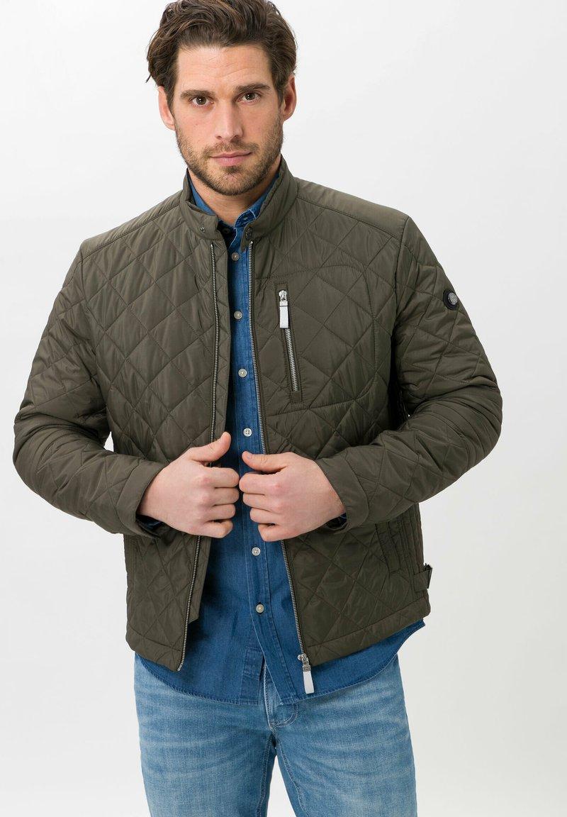 BRAX - STYLE BRUCE  - Light jacket - olive