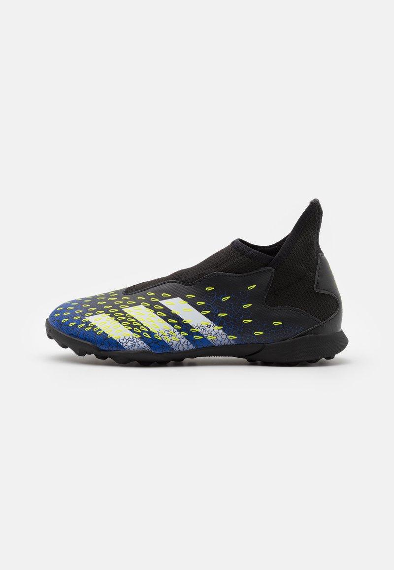 adidas Performance - PREDATOR FREAK .3 LL TF UNISEX - Astro turf trainers - core black/footwear white/solar yellow
