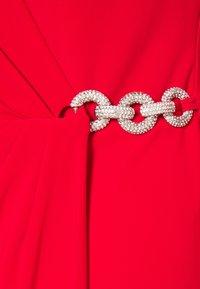 Lauren Ralph Lauren - CLASSIC DRESS - Jersey dress - lipstick red - 5