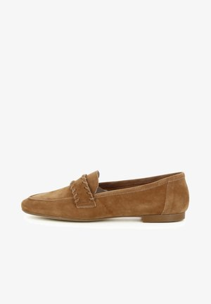 Slip-ons - cuoio