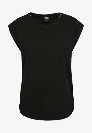 FRAUEN LADIES BASIC SHAPED - Basic T-shirt - black