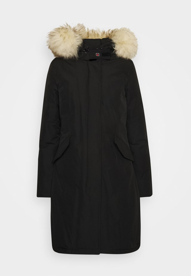 FUNDY BAY LONG  - Down coat - black