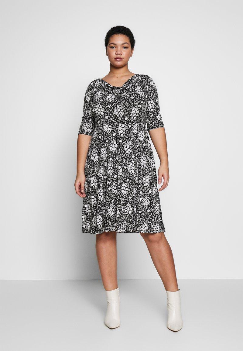 Dorothy Perkins Curve - Jersey dress - black
