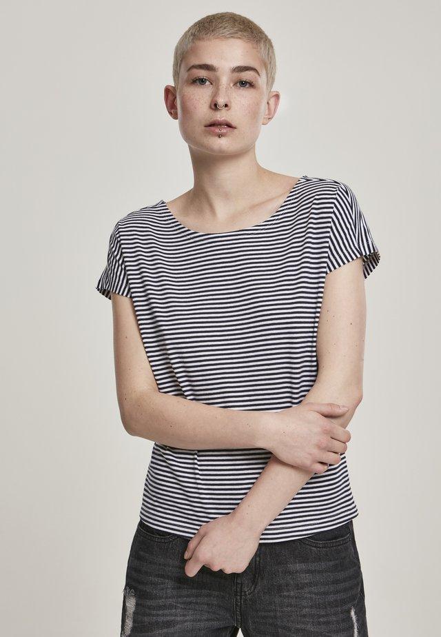 T-shirt imprimé - darkfreshgreen/black