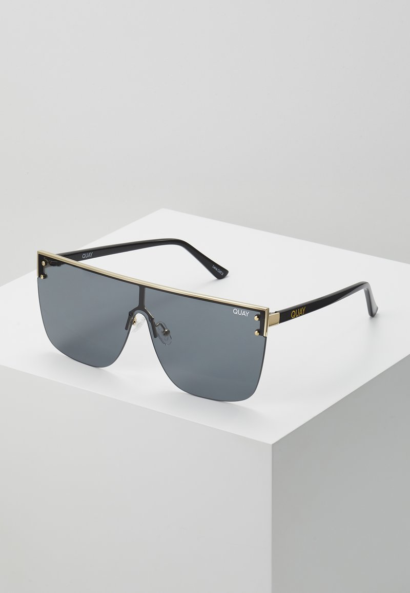 QUAY AUSTRALIA - BLOCKED - Sunglasses - gold-coloured/smoke