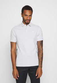 G-Star - SIDE STRIPE POLO S\S - Polo shirt - cool grey - 0