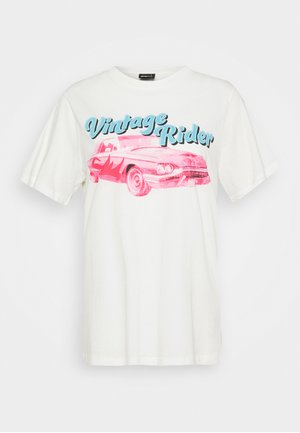 ELLIE TEE - T-shirts med print - off-white