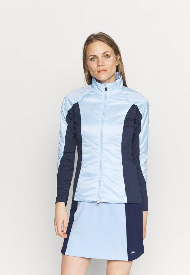 WOMEN RADIATION JACKET - Giacca outdoor - cloud blue/atalanta blue