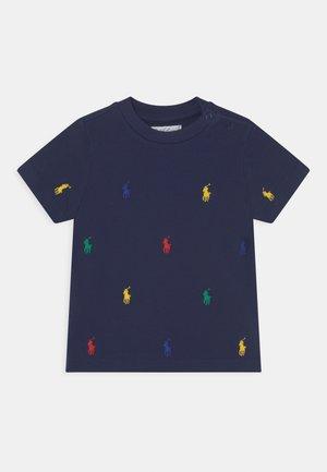 T-shirt con stampa - newport navy