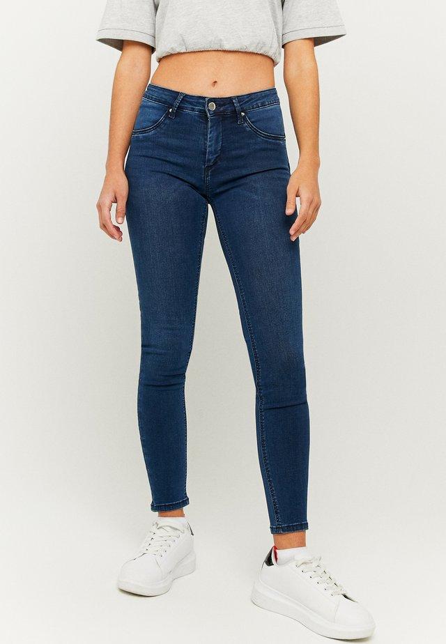PUSH-UP  - Skinny džíny - dark blue