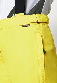 Icepeak - FIDELITY - Ski- & snowboardbukser - yellow - 4