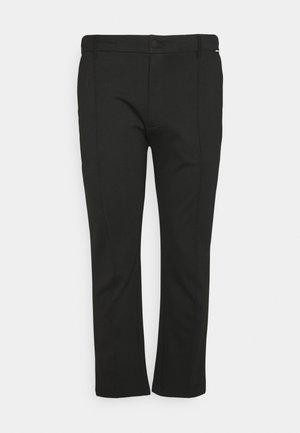 TAPERED ELASTIC COMFORT - Trousers - black