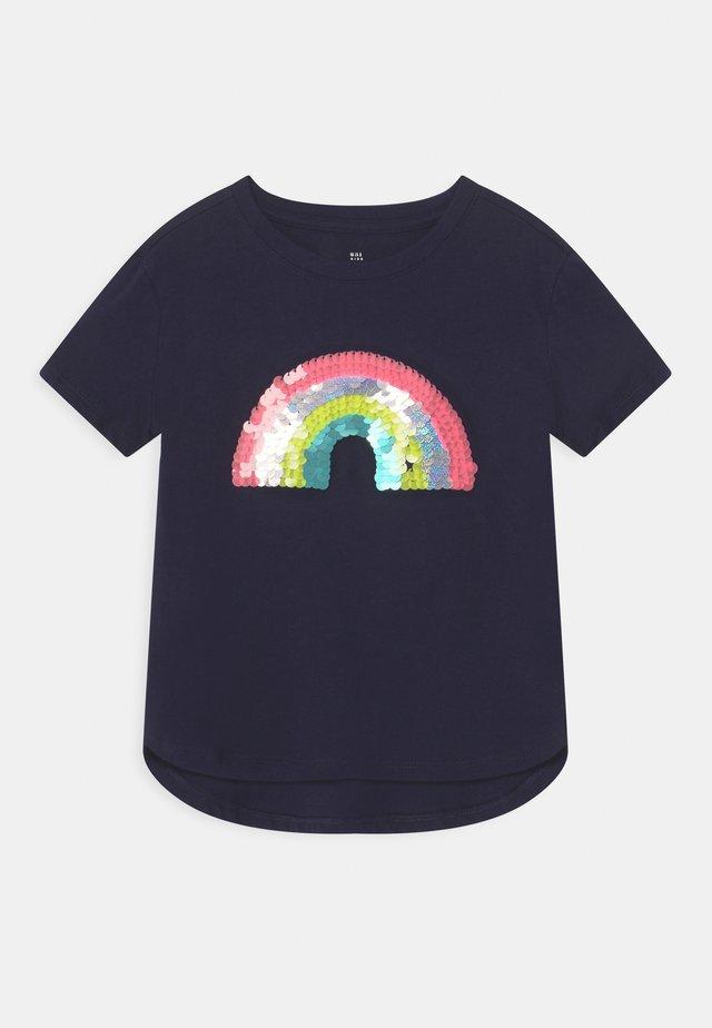 GIRL - T-shirt print - navy