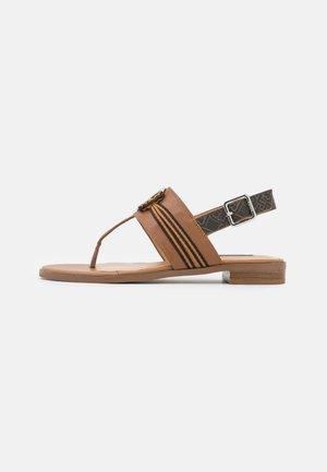 ERIN - Flip Flops - tan