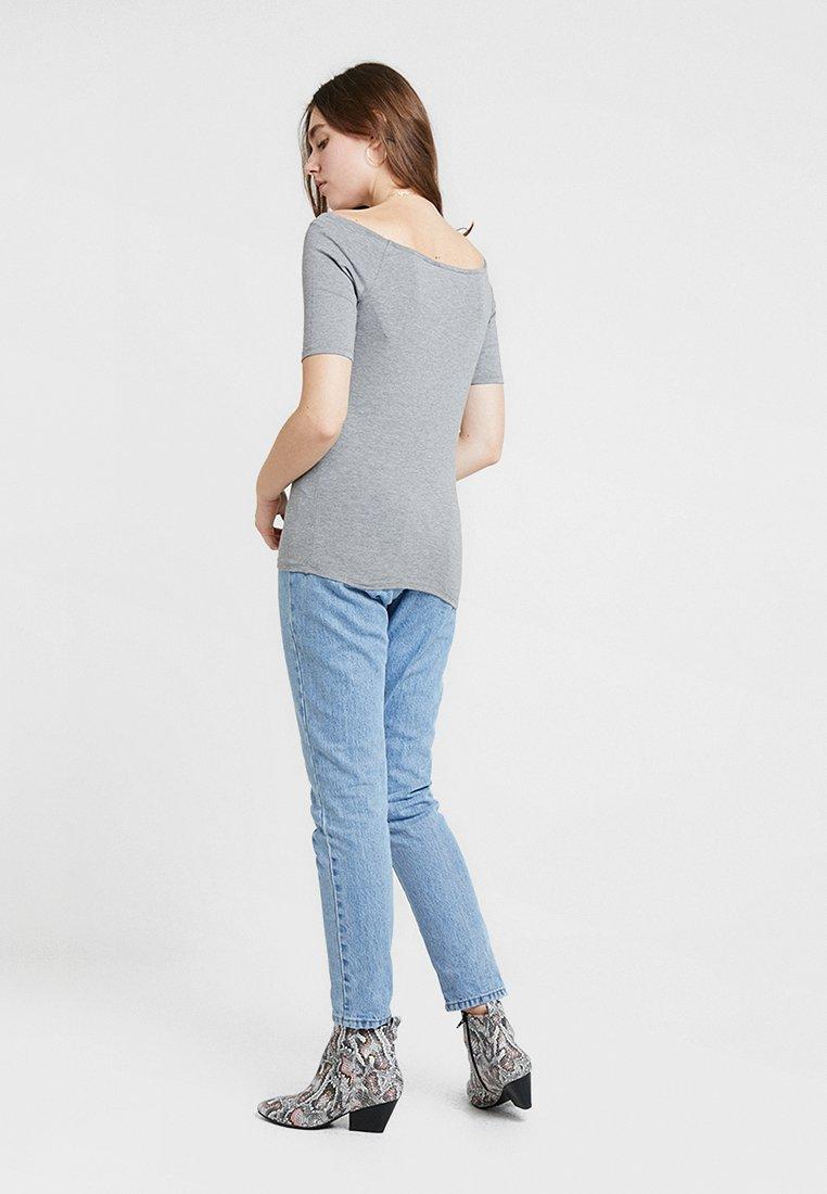 Modström Tansy - T-shirts Grey Melange/grå