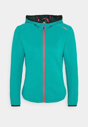 WOMAN JACKET FIX HOOD - Training jacket - ceramic