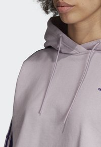 adidas Originals - CROPPED HOODIE - Luvtröja - purple - 5