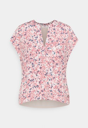 Print T-shirt - light blush