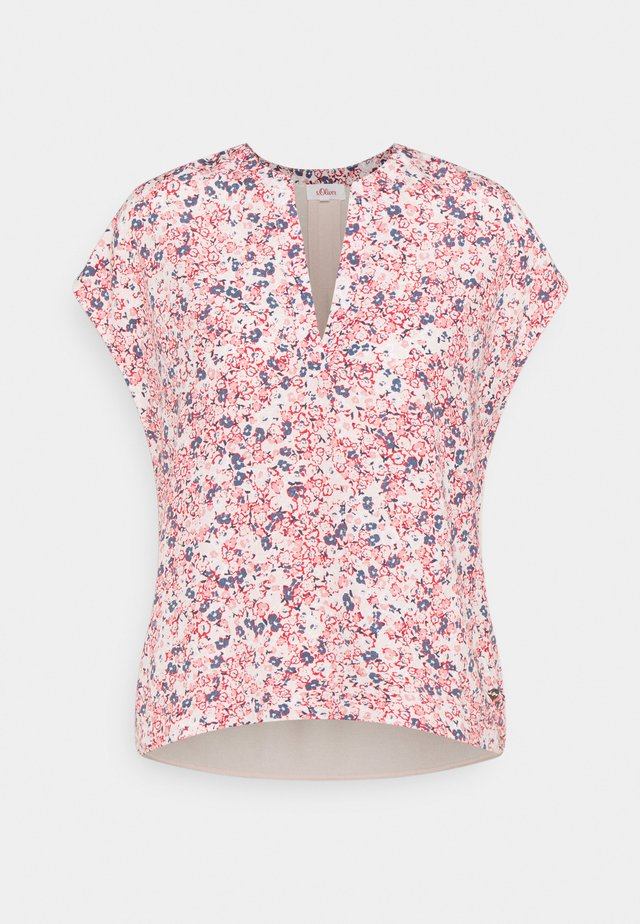 T-shirt print - light blush