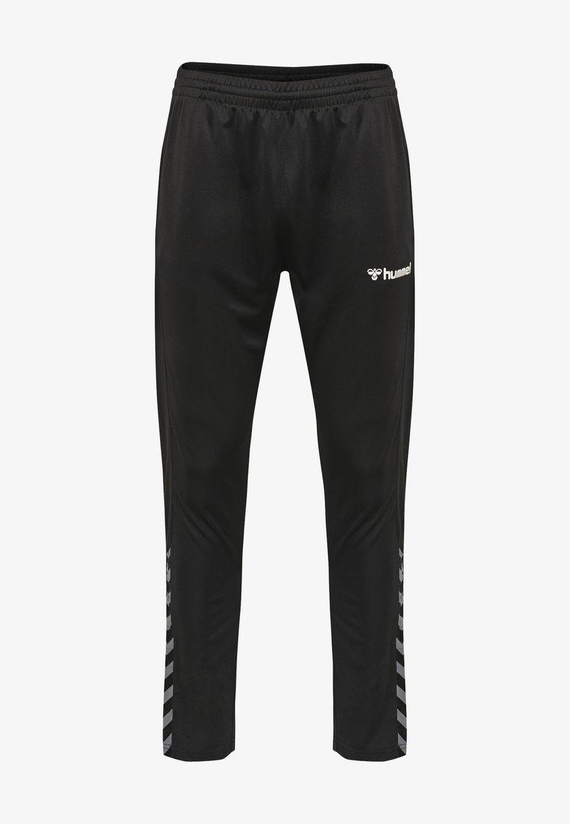 Hummel - Tracksuit bottoms - black/white